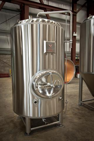 Stainless steel brite tanks by Marks Design & Metalworks