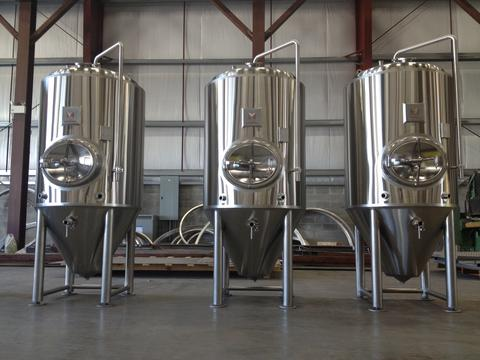Brew Tanks by Marks Design and Metalworks