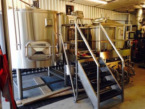 Marks Design and Metalworks - Custom Brew Tanks for American Made Beer