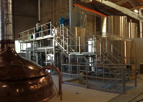 Marks Design & Metalworks creates custom Brew Tanks for American Made brew houses