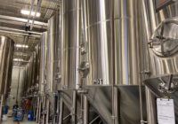 can a brewery make hard seltzer? MARKS stainless steel brew tanks used for hard seltzer drinks.