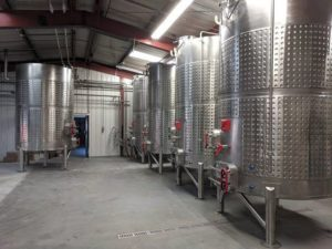 MARKS custom made brew system for wine beer making equipment at Odell's brewery.
