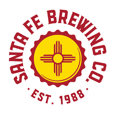 Santa Fe Comapny's white background logo.